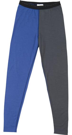 Aclima Junior Lightwool Longs Dazzling Blue/Iron Gate